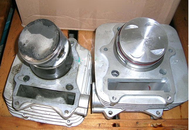 Oversize/Bore up (memperbesar volume silinder)